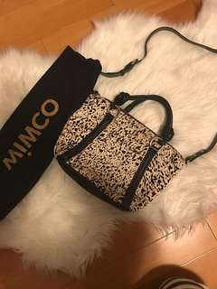 Mimco leather small Tote