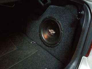 T.Camry Custom made woofer box