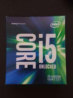 Intel Core i5 6600K 3.50 GHz Quad Core Skylake Desktop Processor