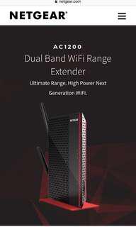 Netgear EX6200 Wifi Extender