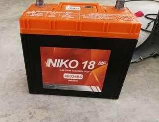 Car battery Niko NS60S