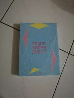 Twice dvd super event