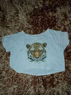 Croptop harimau