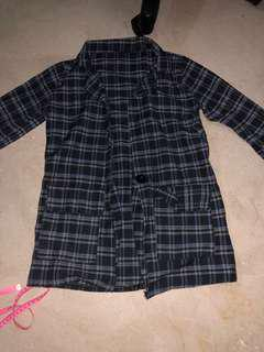 [3 FOR $10] checkered blazer
