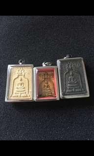 Lp Nak Wat Rakang Be2500 Phra Somdej Nur Phong , Tong Pasom , Bailan