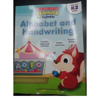 Scholastic Learning Express K2: Alphabet and Handwriting