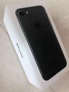 IPHONE 7 Black 128GB 95% new good condition