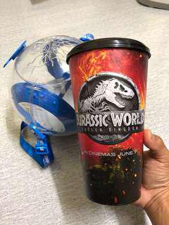 Popcorn Bucket & Tumblr Jurassic World Fallen Kingdom