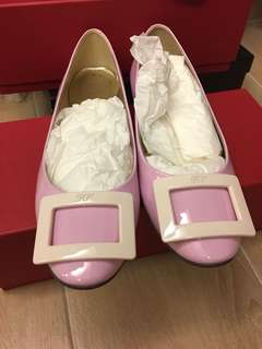 95%new RV Roger Vivier flats shoes 平底鞋