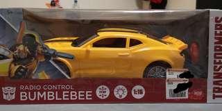 Transformers Bumblebee radio control