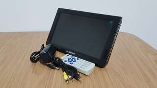 10.2 inch Portable Monitor / TV / Media player with built in stand