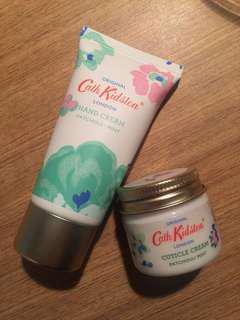 Cath Kidston Hand Cream & Cuticle Cream Set