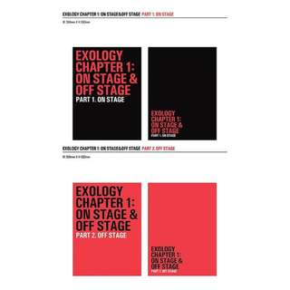 (PRE-ORDER) EXO [ON STAGE & OFF STAGE]