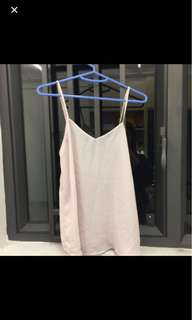 Topshop light pink camisole
