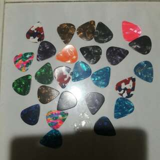 brand new guitar picks
