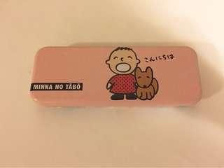 Sanrio vintage 大口仔筆盒 1989