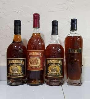 张裕金装白兰地 China Brandy 700ml 4 bottles bundle