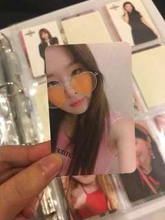 Seulgi The Red Summer Photocard
