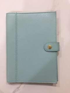 Preloved Kikki.k a5 size pu leather notebook cover