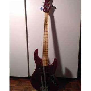 Edwards E-AM-138QM(5 strings bass) 2nd hand