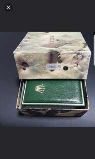 Rolex rare Watch Box for model 15000 Date