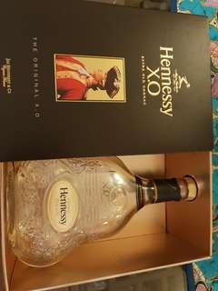 Henessy XO Empty Bottle