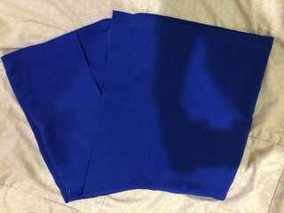 Rok celana biru