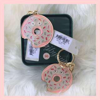 Fossil donuts keychain