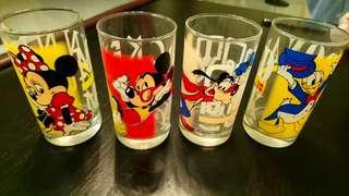 New Full Set Disney Glass
