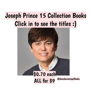 (ebook) Joseph Prince Books