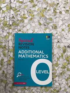 O Level Topical Revision Notes AMATH