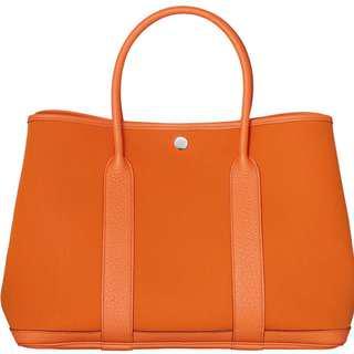 Hermes Garden Party in OrangeDesignerbag