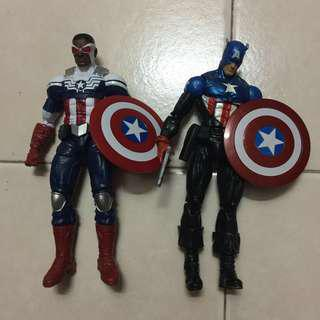 Marvel legends Captain America set
