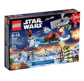 🔥(2Day SALES)🔥 LEGO 75097 Star Wars Advent Calendar