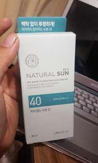 The Face Shop Sun Cream Hydrating