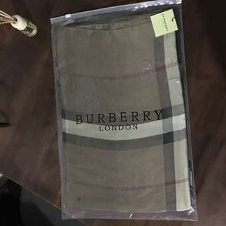 Burberry brand new silk scarf