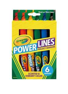 Crayola Project Markers Scented & Vibrant Color