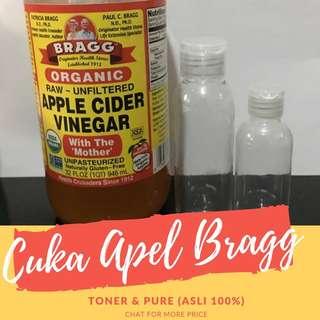 CUKA APEL BRAGG 100% (Share in jar)
