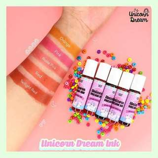 Unicorn Dream Ink Lip & Cheek tint