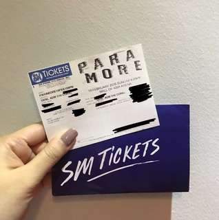 Paramore Concert in Manila - 1 Gen Ad Ticket - August 23
