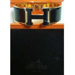 HERMES Clic Clac H Bracelet (New) $4200@ (3 colours to choose)