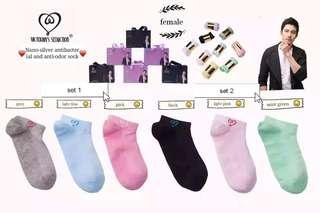 3 pairs - Nano-silver antibacterial and anti-odor socks