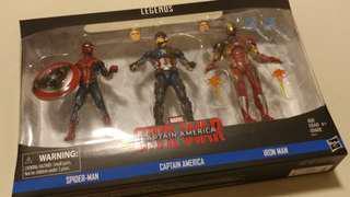 Marvel figure ironman civil war