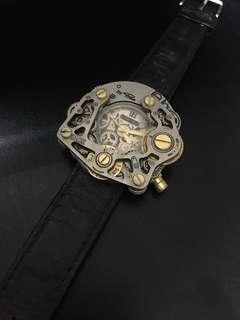 wrist gear watch  - pino stainless steel back