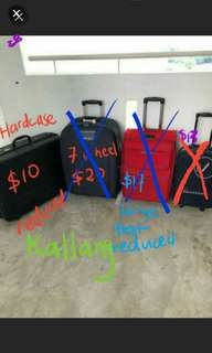 Kallang further reduced last  luggage bag travel suitcase