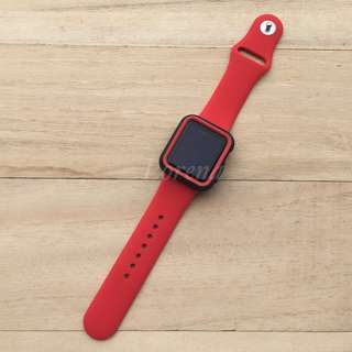 Combo Replacement Strap & Bumper for Apple Watch
