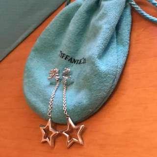 原價$1900 Tiffany & Co Star Lariat Earrings 星星耳環