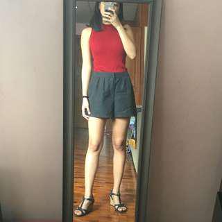 H&M Black Modal Shorts