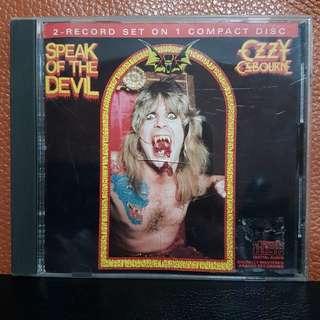 Reserved: CD》Ozzy Osbourne - Speak Of The Devil