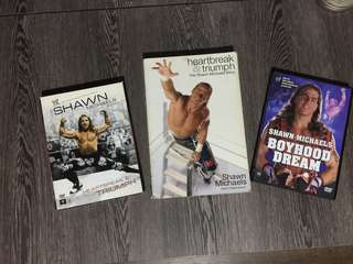 Shawn Michaels WWE HBK autobiography and DVD